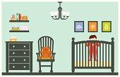 Baby Boy in Nursery