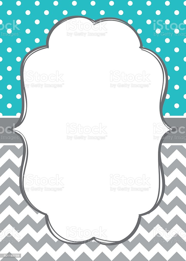 Baby Boy Invitation Card Template stock vector art 501193759 – Template Invitation Card