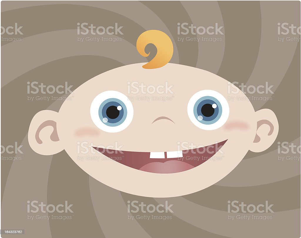 Baby Boy royalty-free stock vector art