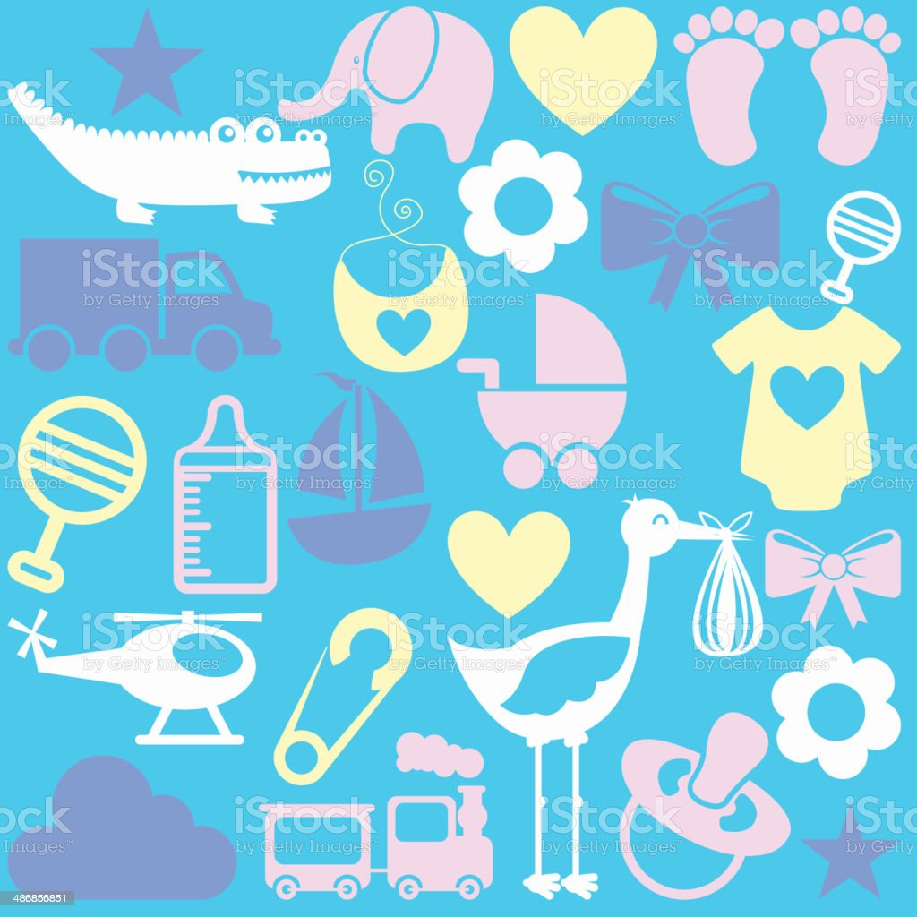 baby design royalty-free stock vector art