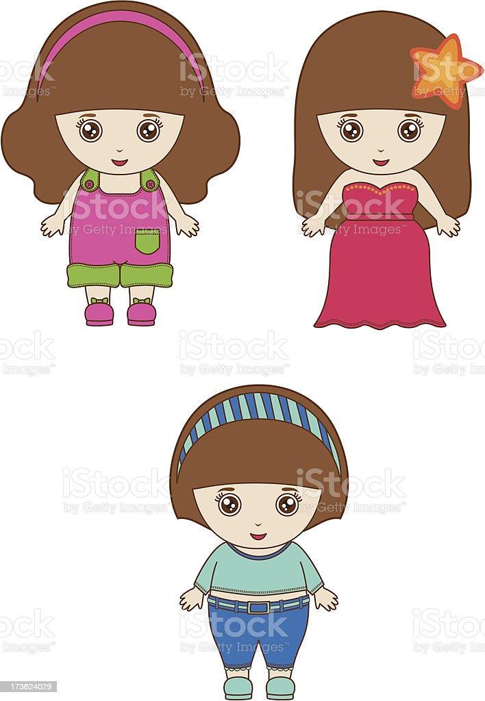 Baby Hope royalty-free stock vector art