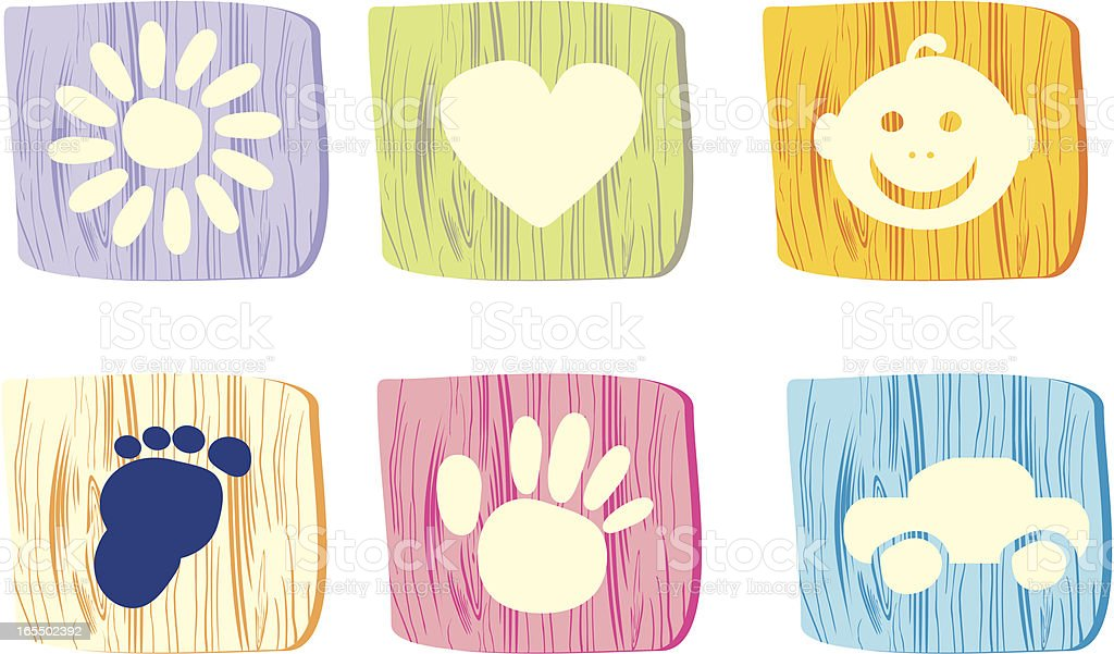 baby icon royalty-free stock vector art