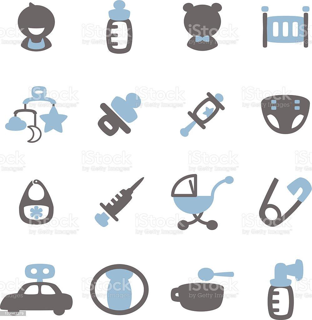 Baby Icon royalty-free stock vector art