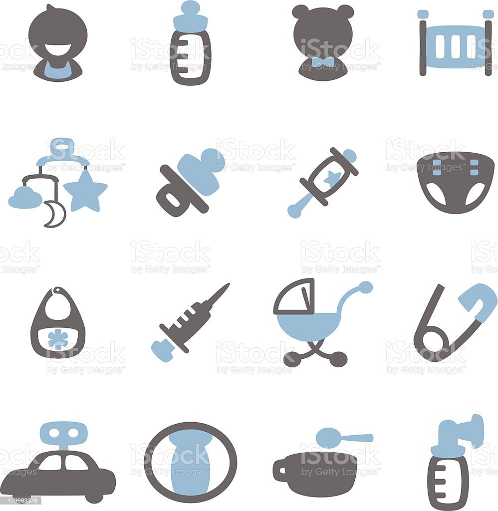 Baby Icon vector art illustration