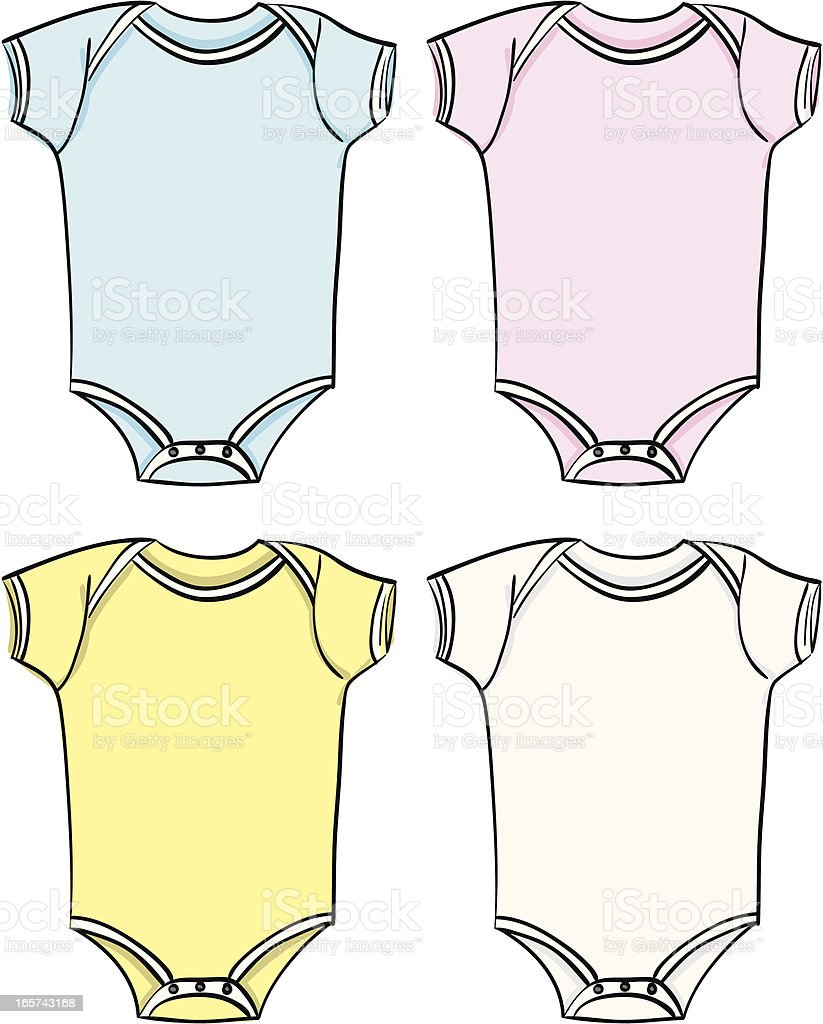 infant bodysuit clip art vector images amp illustrations