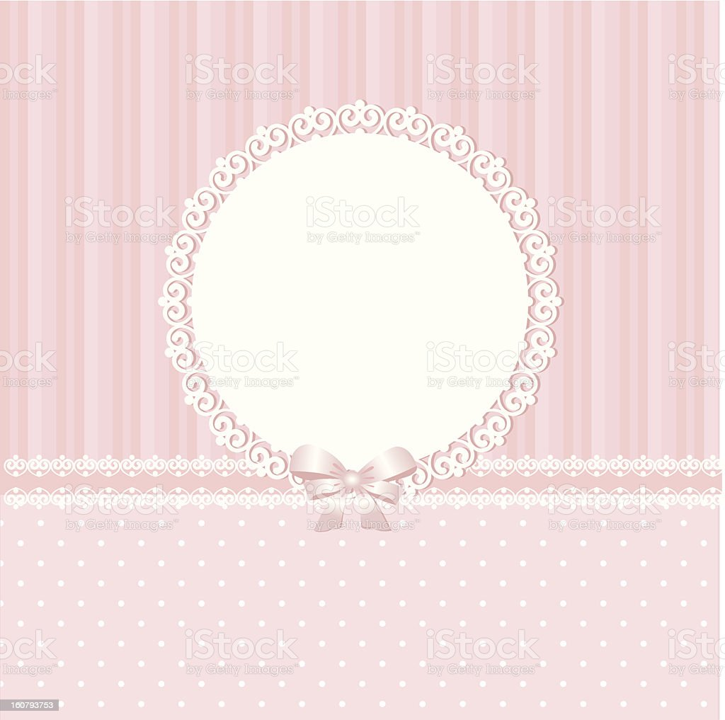 Baby pink background royalty-free stock vector art