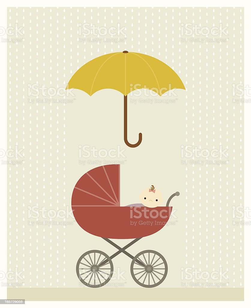 Baby Shower royalty-free stock vector art