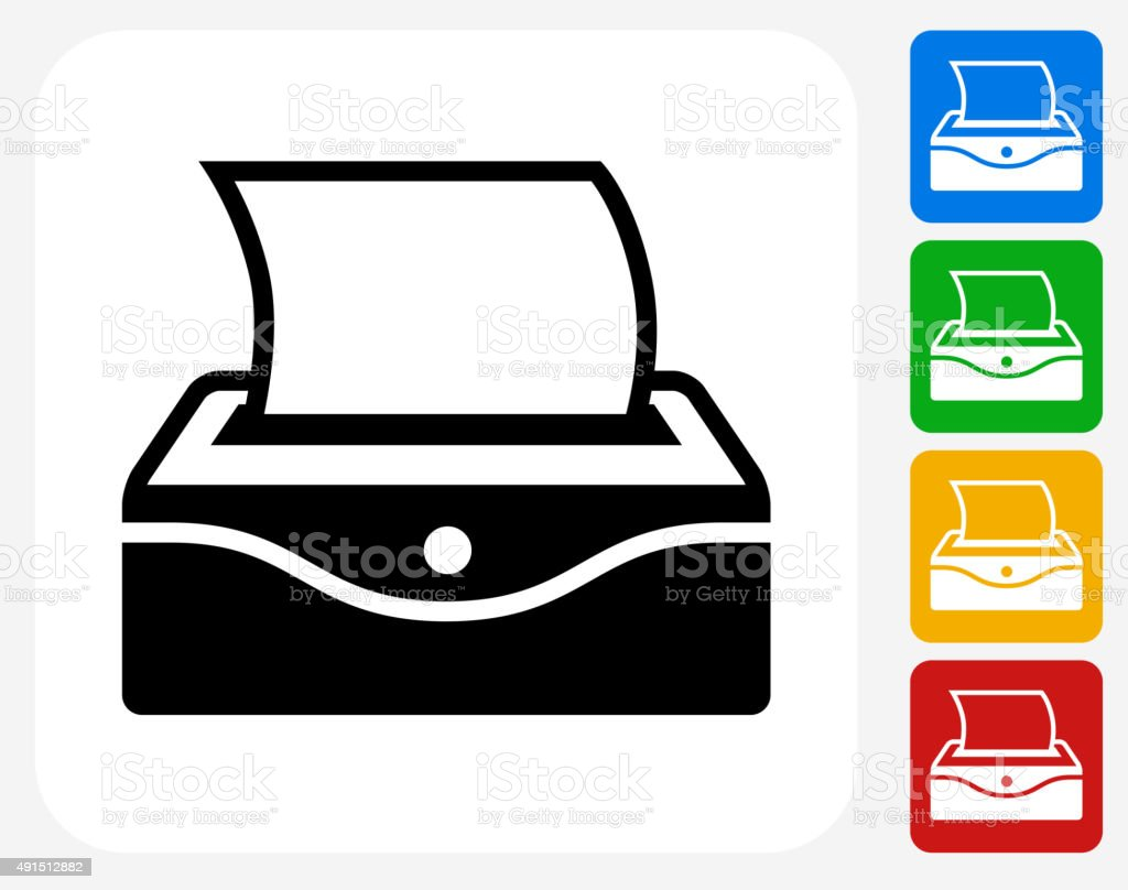 Baby Wipes Icon Flat Graphic Design vector art illustration