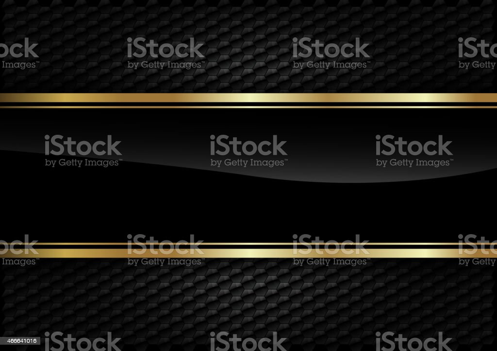 Back Background Gold vector art illustration