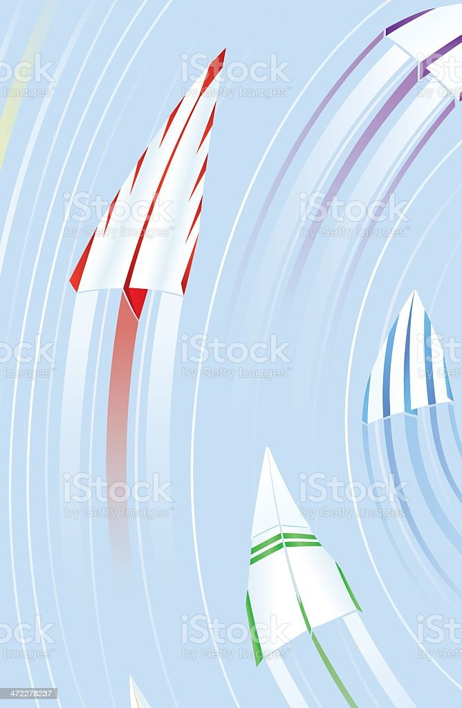 Back In The Fast Lane royalty-free stock vector art