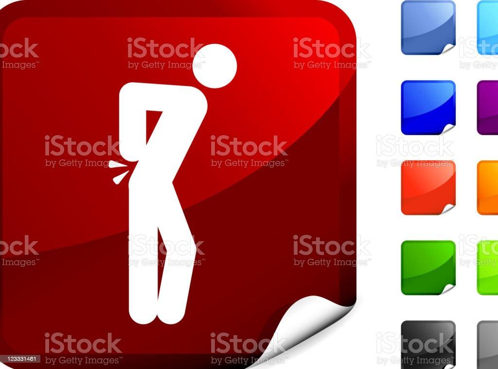 back pain internet royalty free vector art vector art illustration