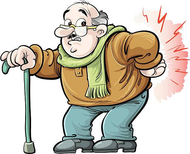 Back Pain Cartoons Clip Art, Vector Images & Illustrations - iStock