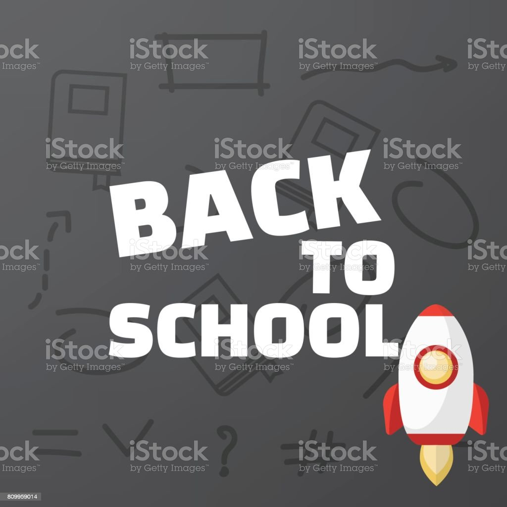 Poster design education - Back To School Poster Design Education Background Back To Scho Royalty Free Stock