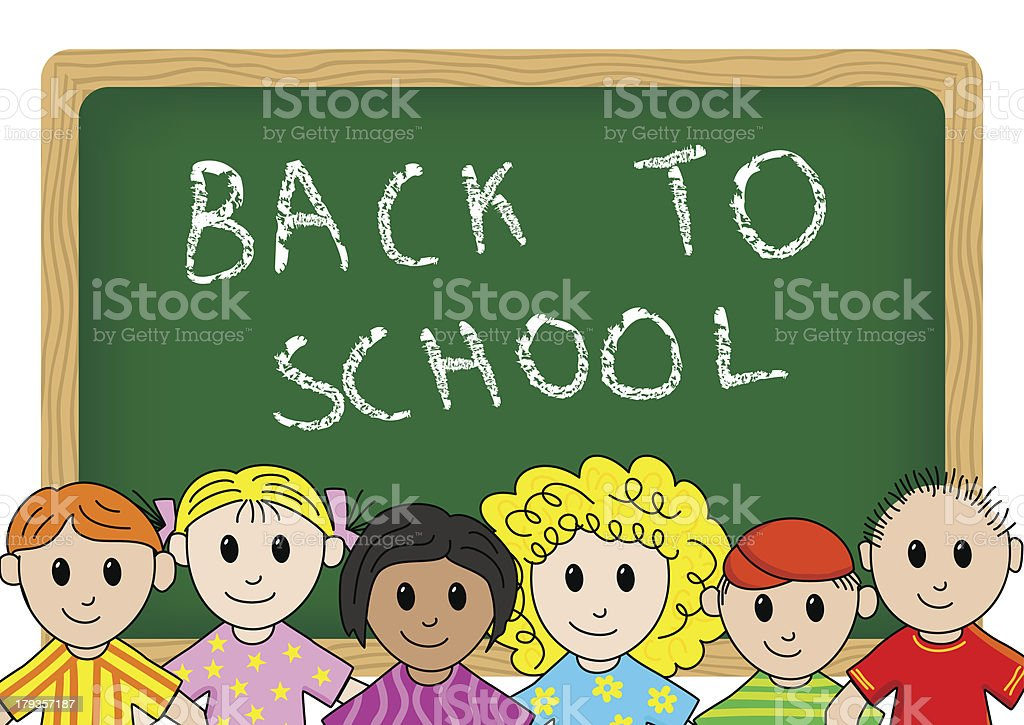 back to school royalty-free stock vector art
