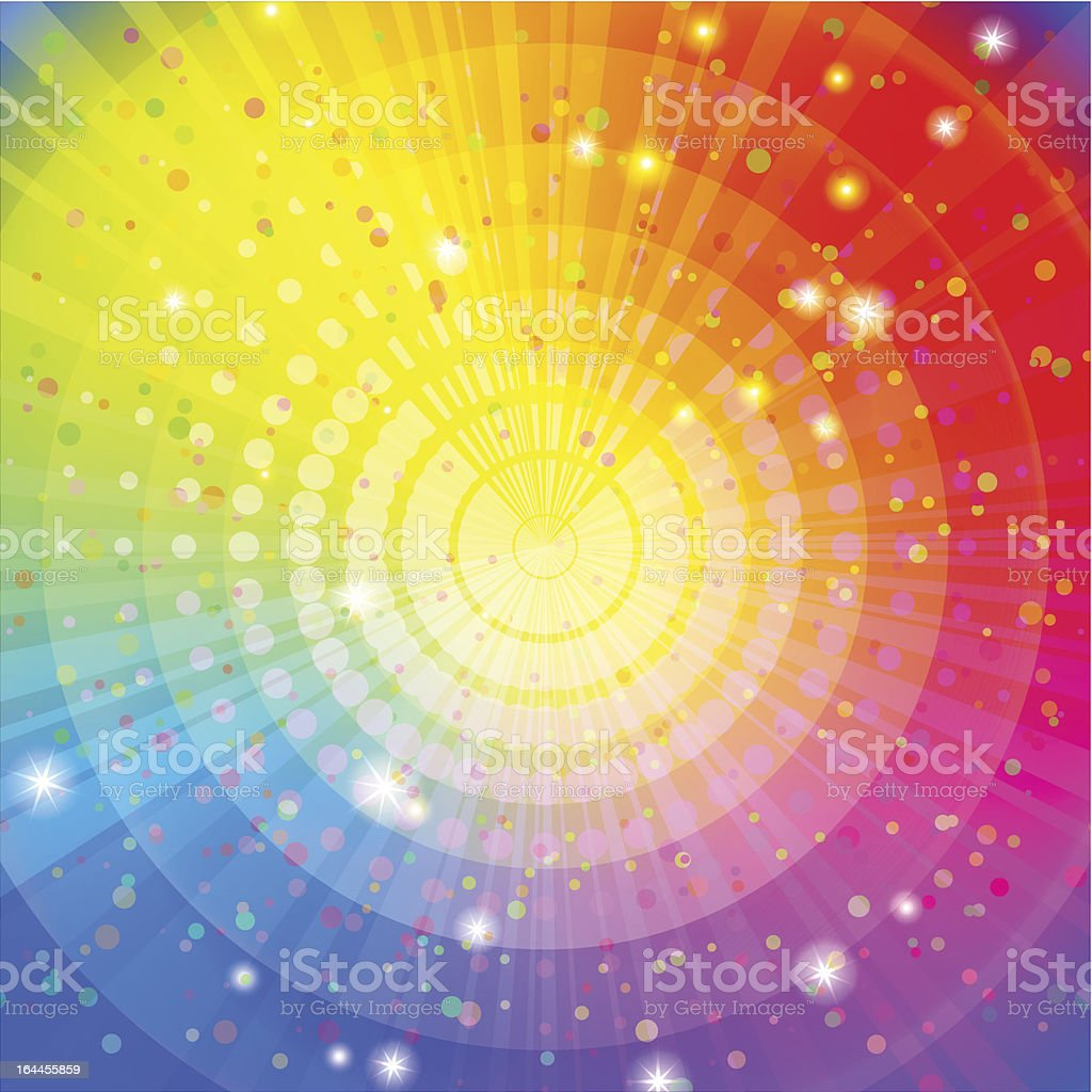 Background abstract rainbow royalty-free stock vector art