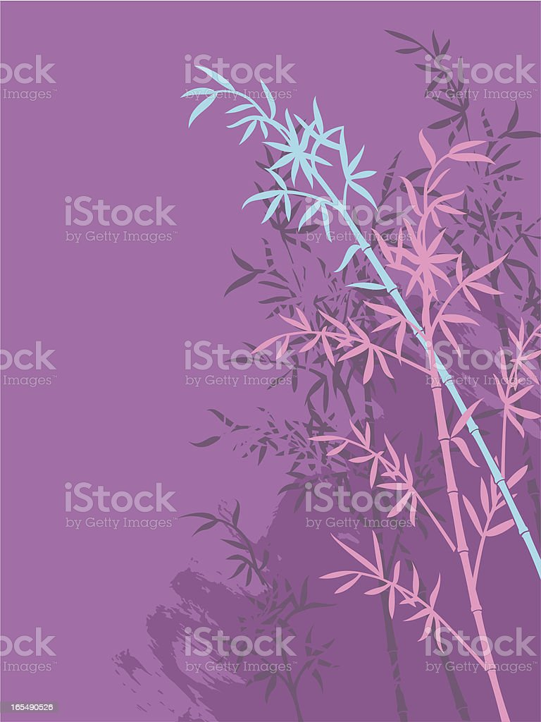 background bamboo ll royalty-free stock vector art