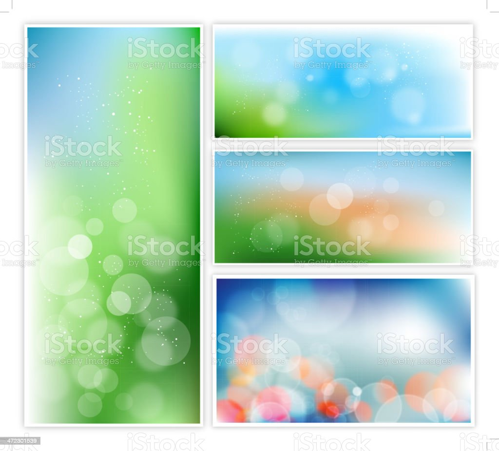 Background Banners royalty-free stock vector art