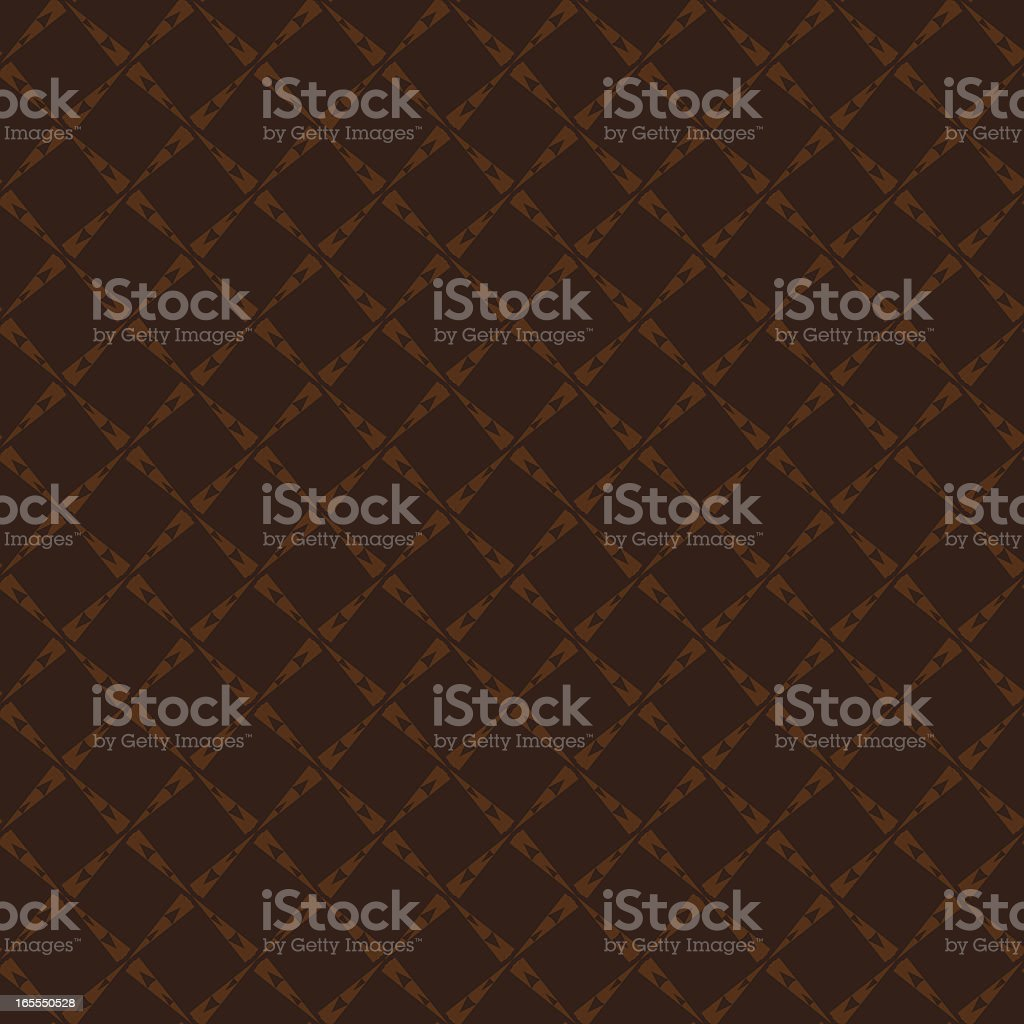 Background - Brown Fishnet vector art illustration