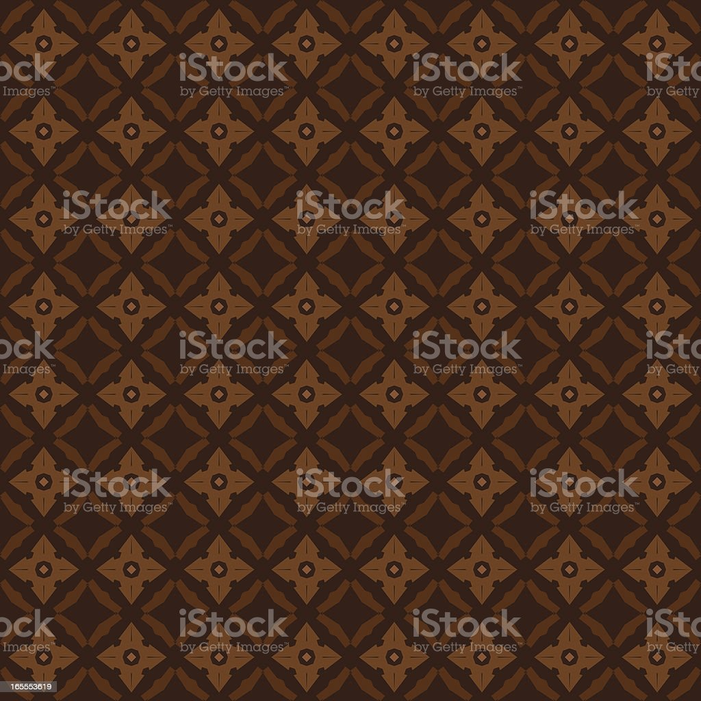 Background - Brown Quilt royalty-free stock vector art