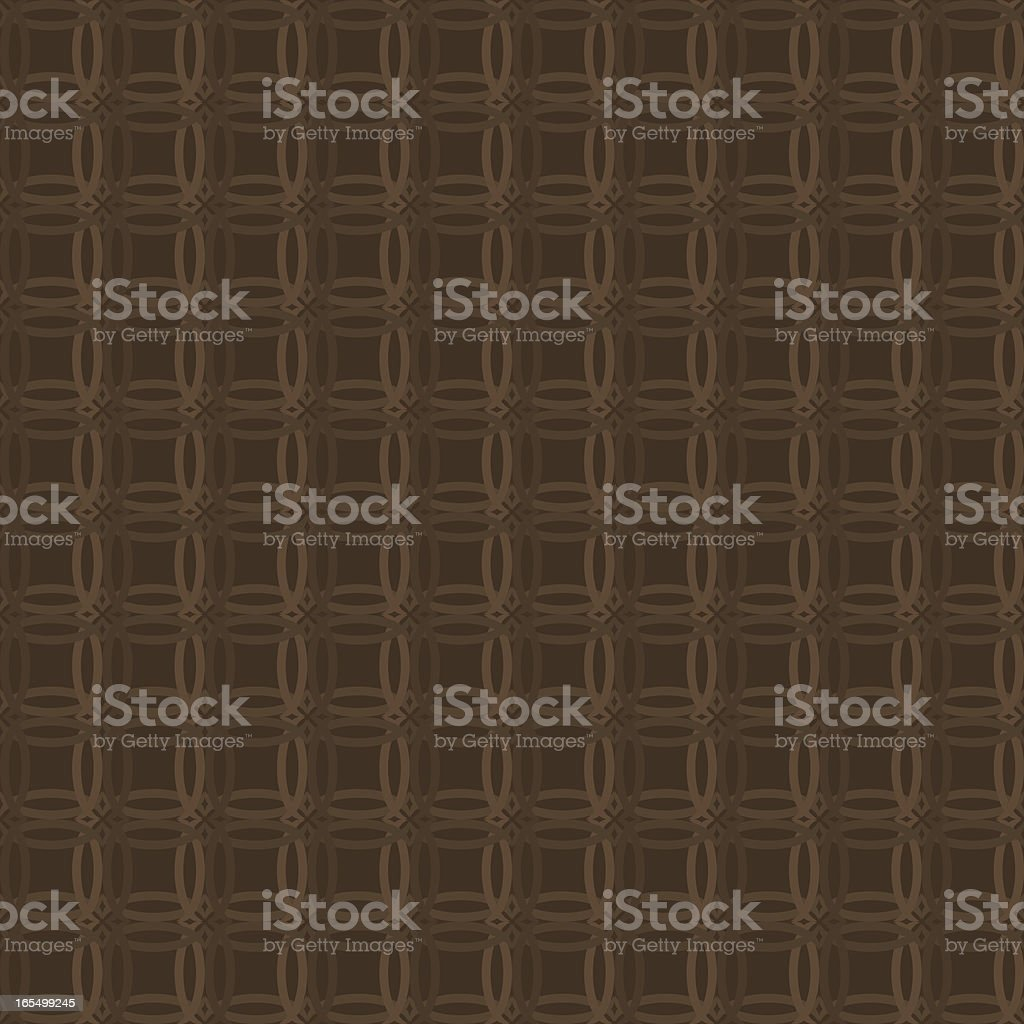 Background - Brown Wicker Weave royalty-free stock vector art