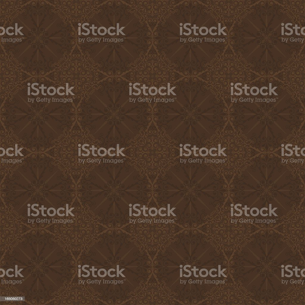 Background - Chocolate Wallpaper (Seamless) vector art illustration