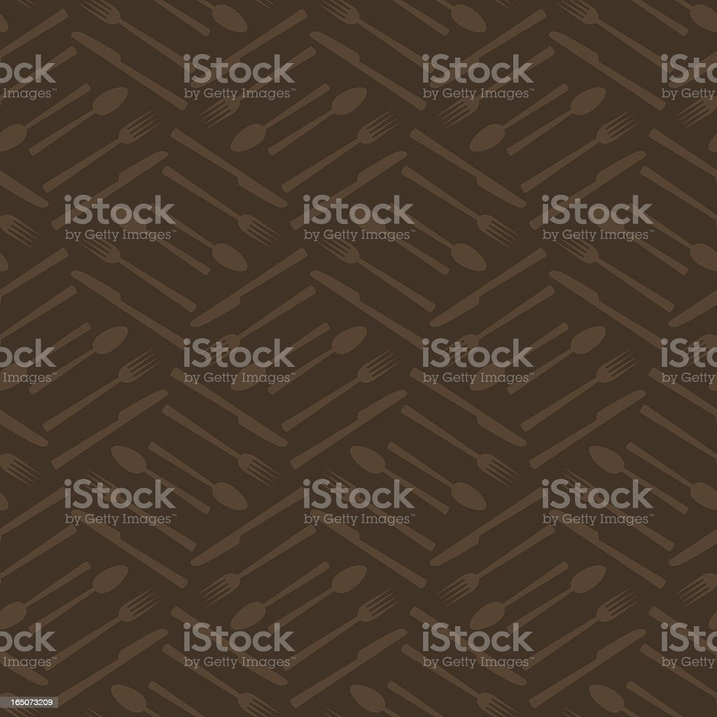 Background - Cutlery (Seamless) royalty-free stock vector art