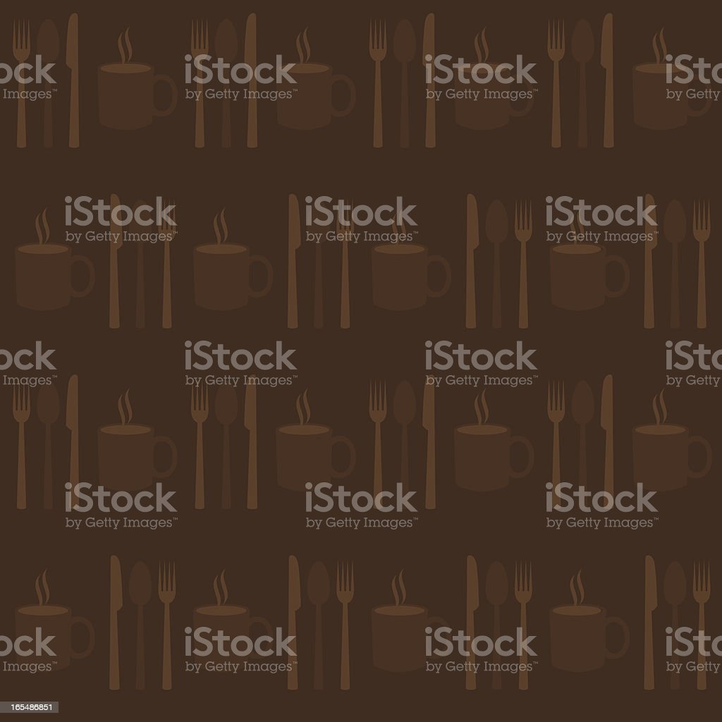 Background - Cutlery royalty-free stock vector art