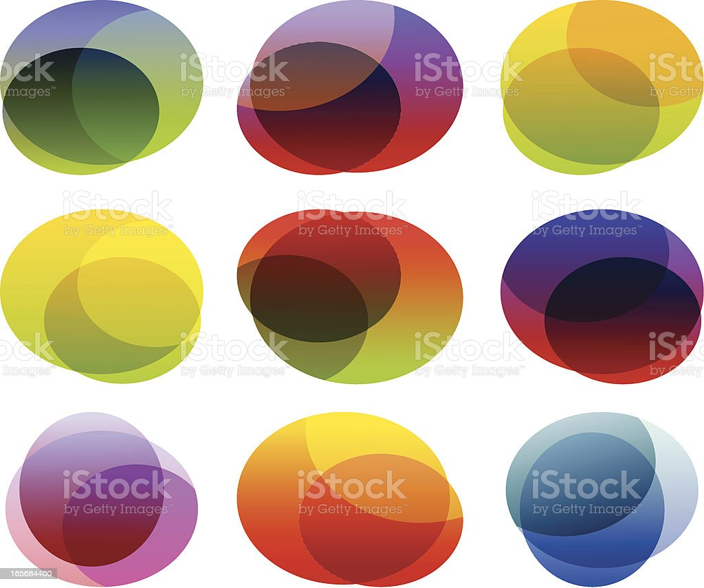 Background elements royalty-free stock vector art