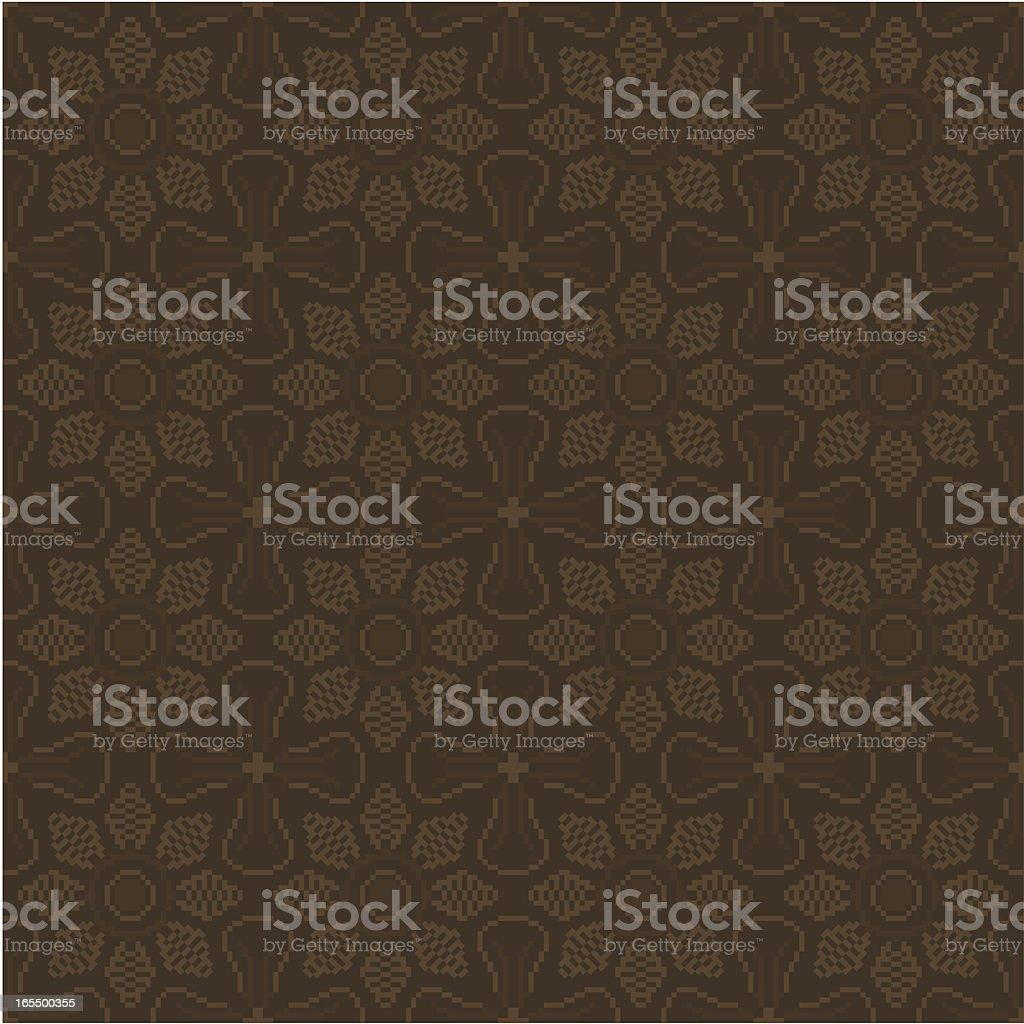 Background - Flower Pattern vector art illustration