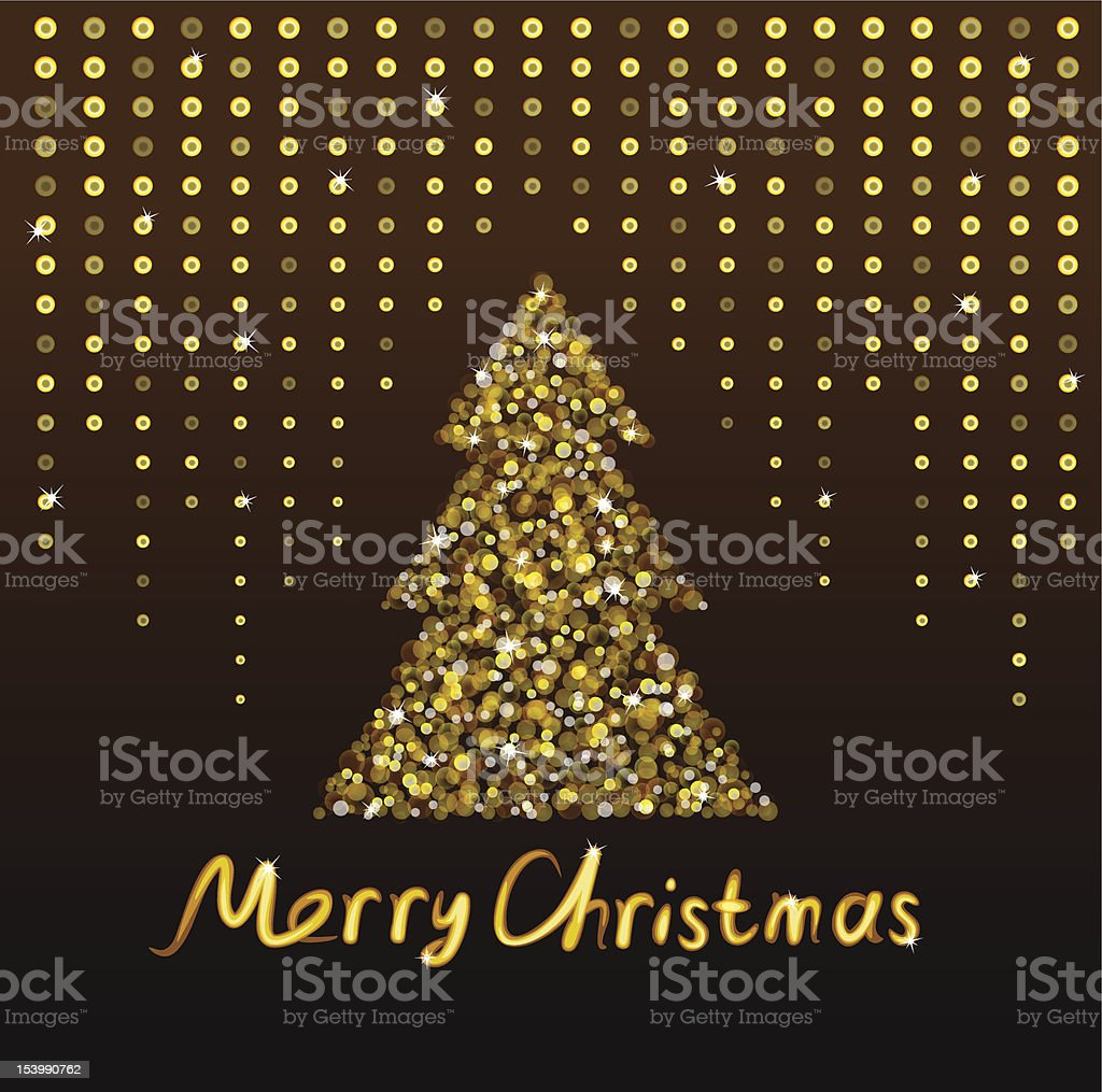 Background for Christmas and New Year royalty-free stock vector art