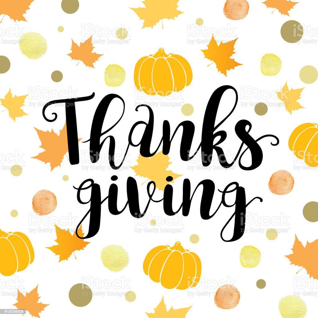 Background for Thanksgiving Day. vector art illustration