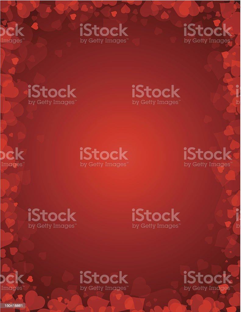 background for valentines da royalty-free stock vector art
