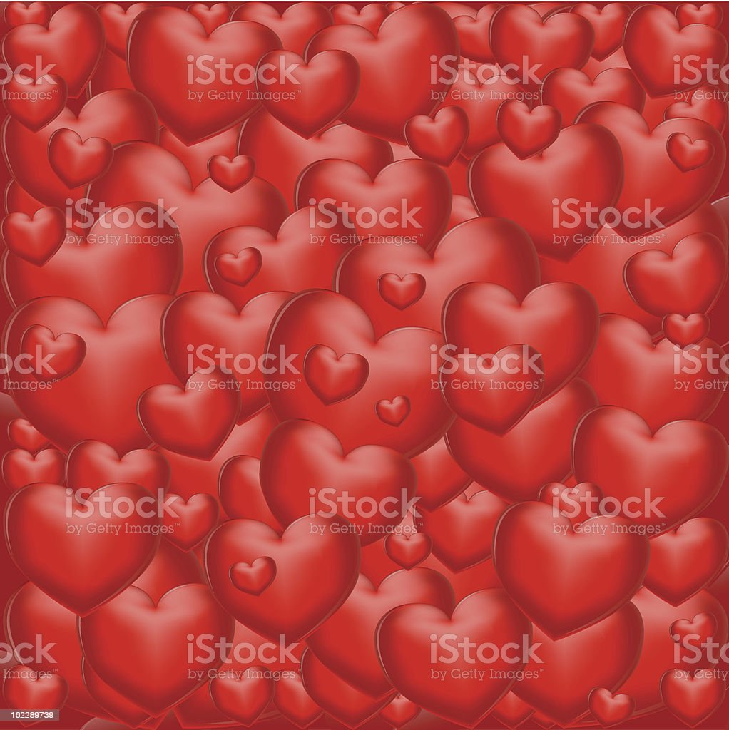 background from hearts royalty-free stock vector art