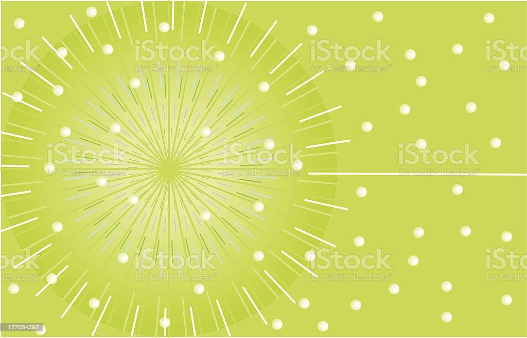 Background - Lime sphere vector art illustration