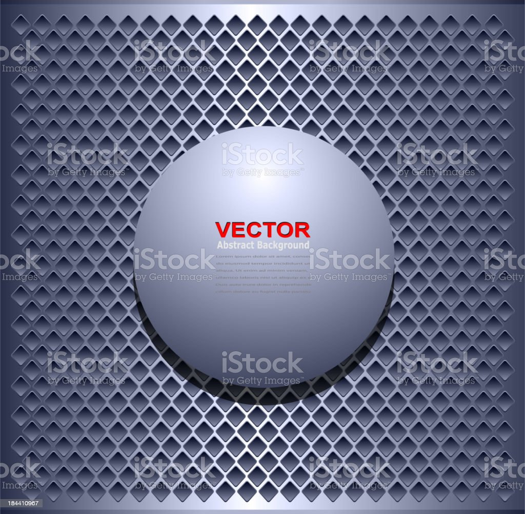 Background metallic royalty-free stock vector art