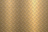 Background of Metal Diamond Plate in Bronze Color