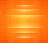 Background orange with dots