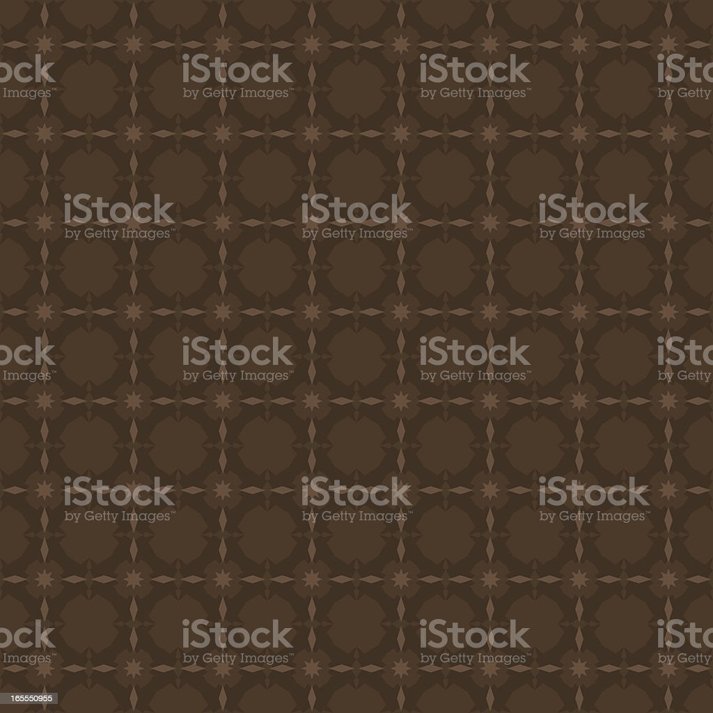 Background - Ornate Brown royalty-free stock vector art