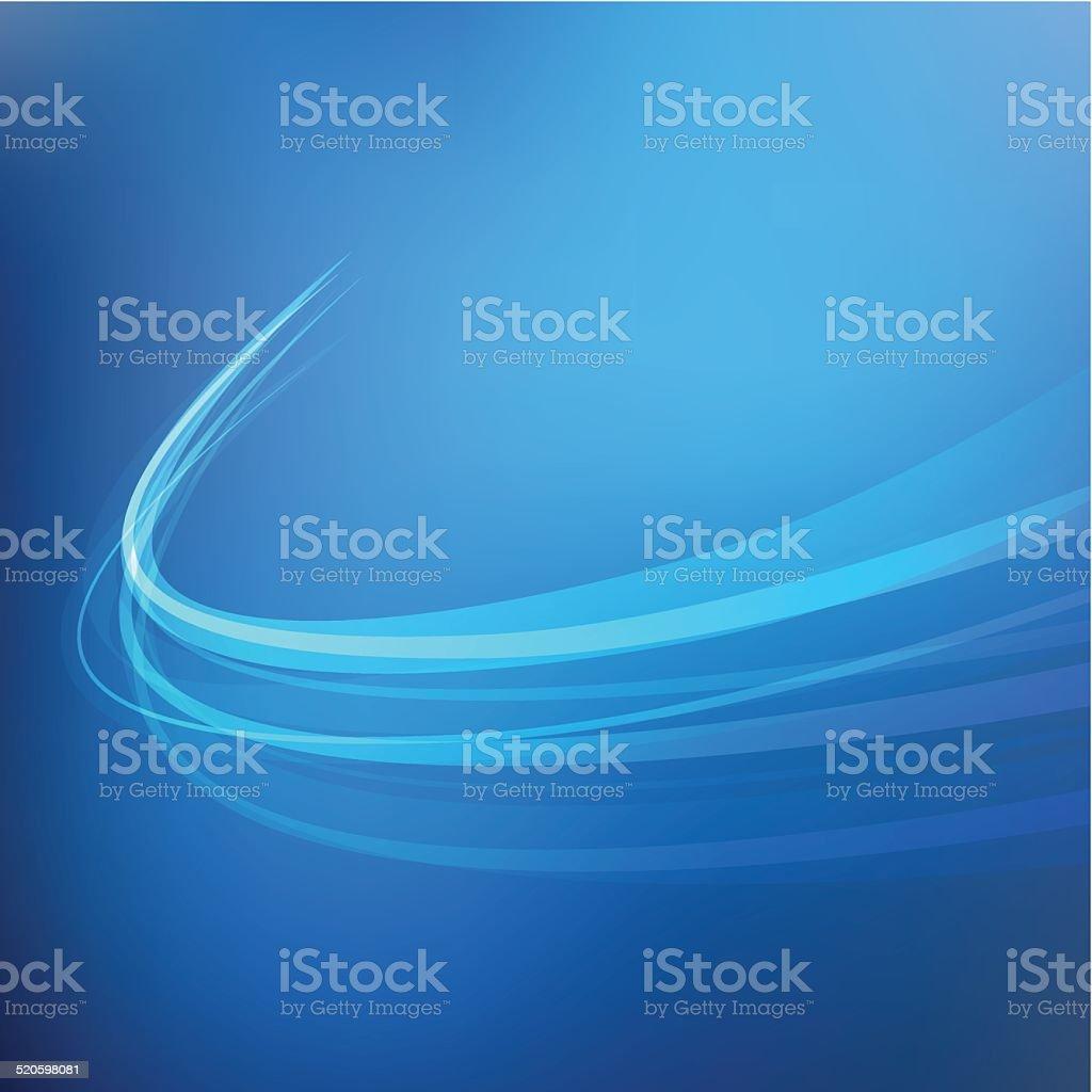 Background swirl dark blue vector art illustration