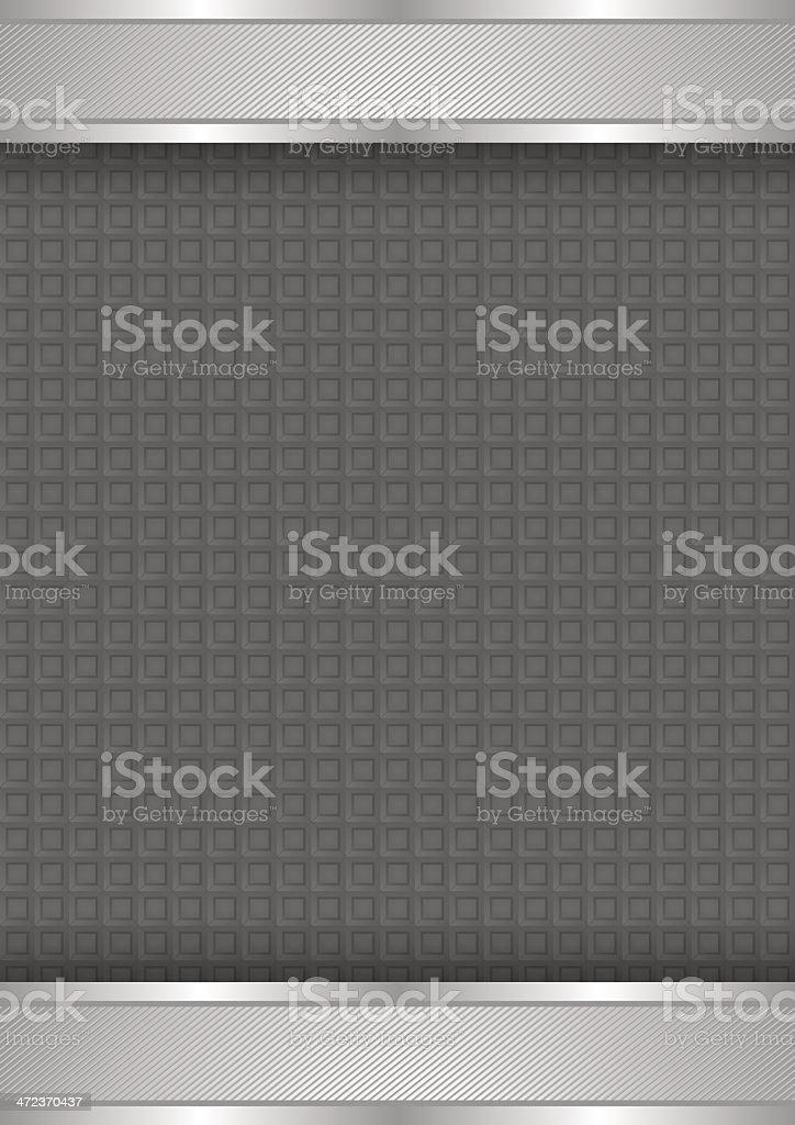Шаблон металлический фон, текстура векторная иллюстрация