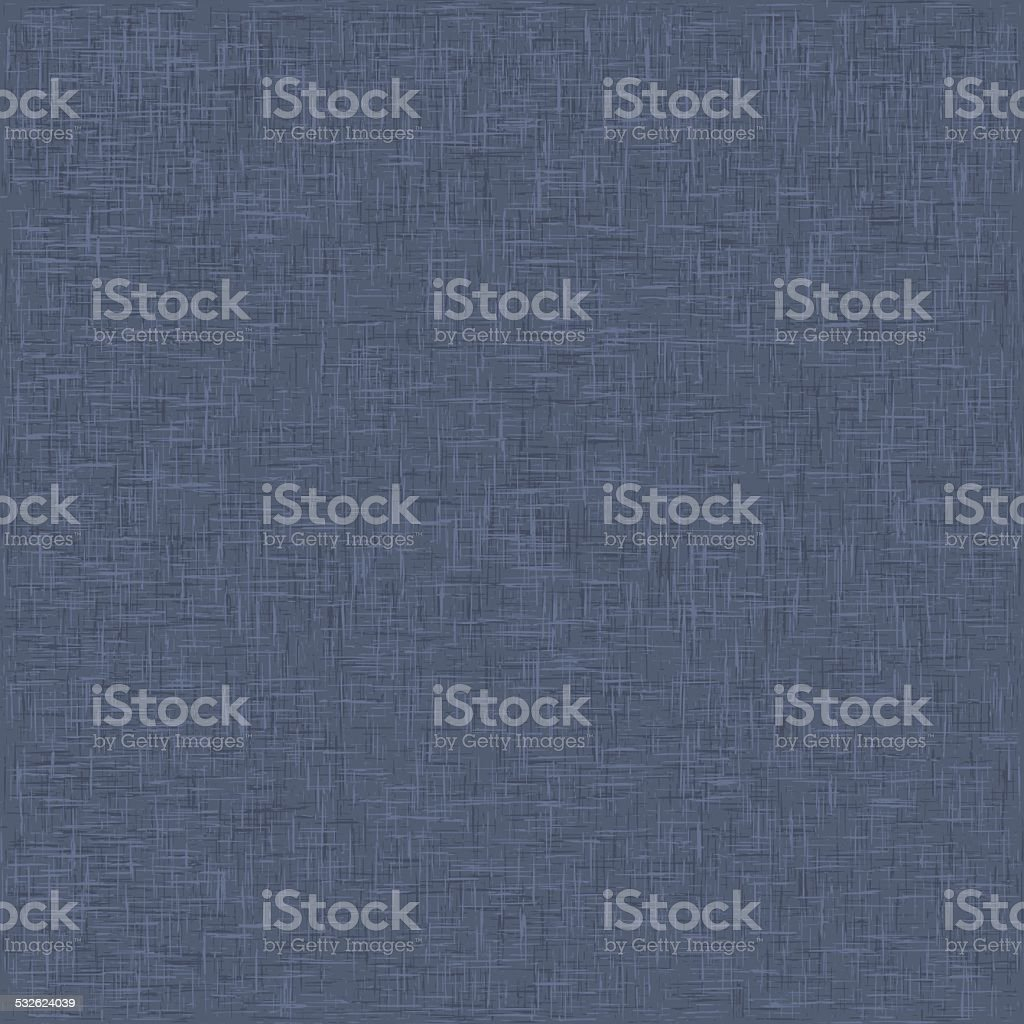 Background Texture With Linen Material Canvas vector art illustration