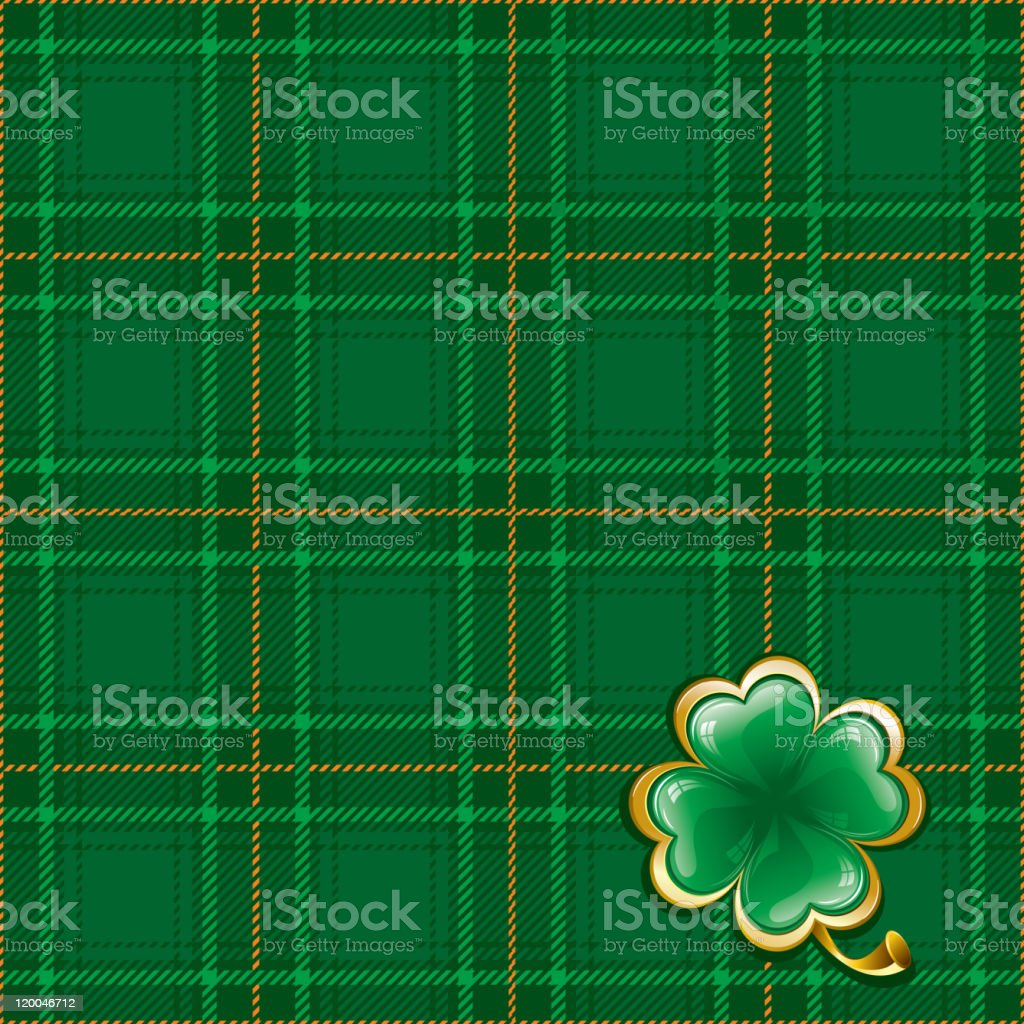 Background to St. Patrick's Day vector art illustration