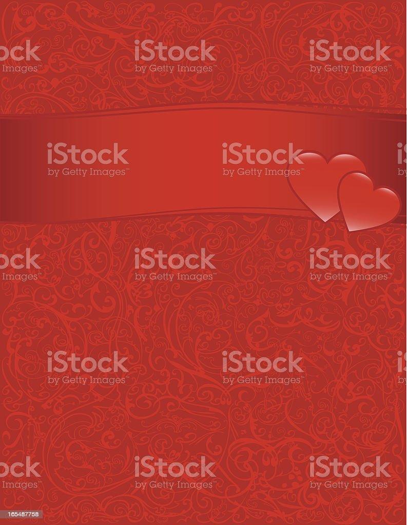 Background - Valentine royalty-free stock vector art