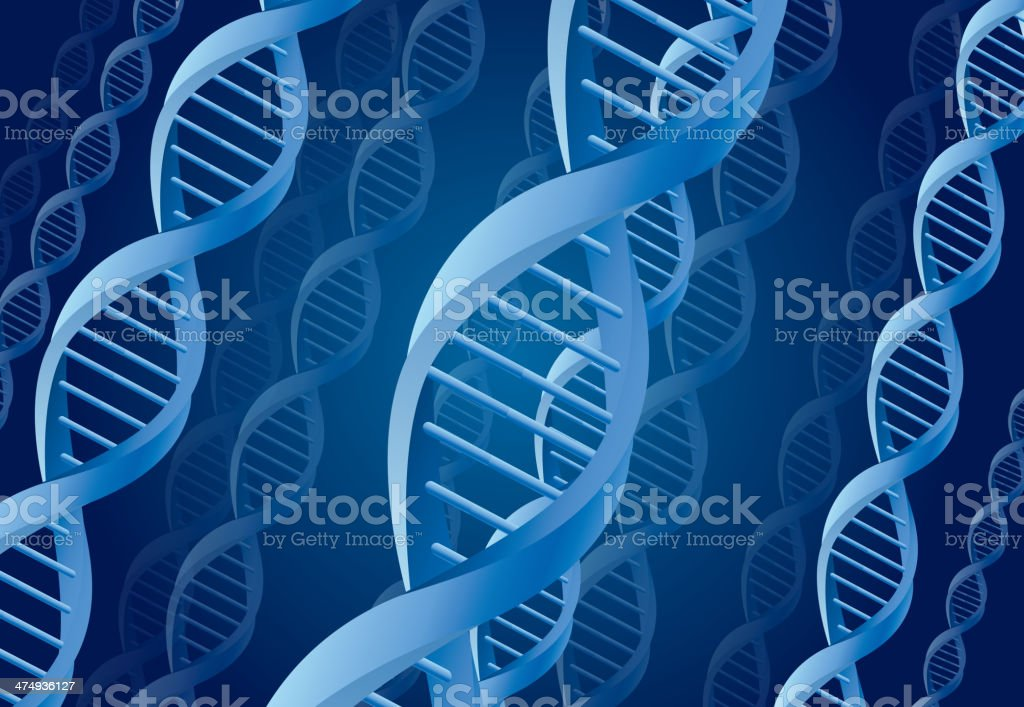DNA background royalty-free stock vector art