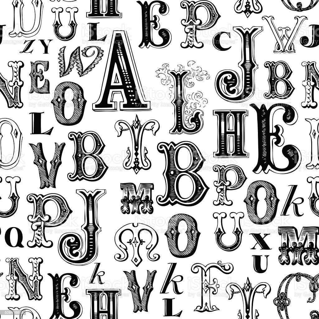ABC background vector art illustration