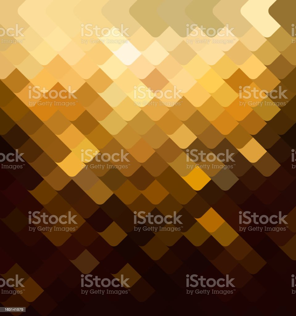 Background with a brown tile vector art illustration