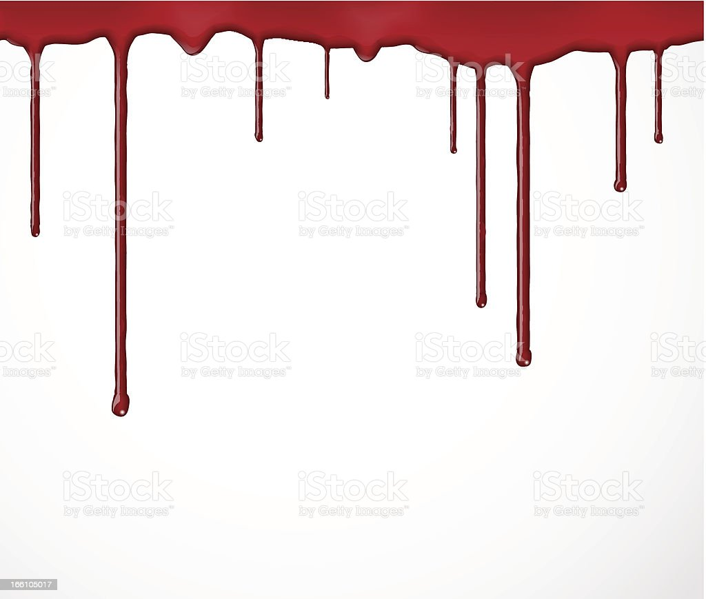 Background with blood vector art illustration