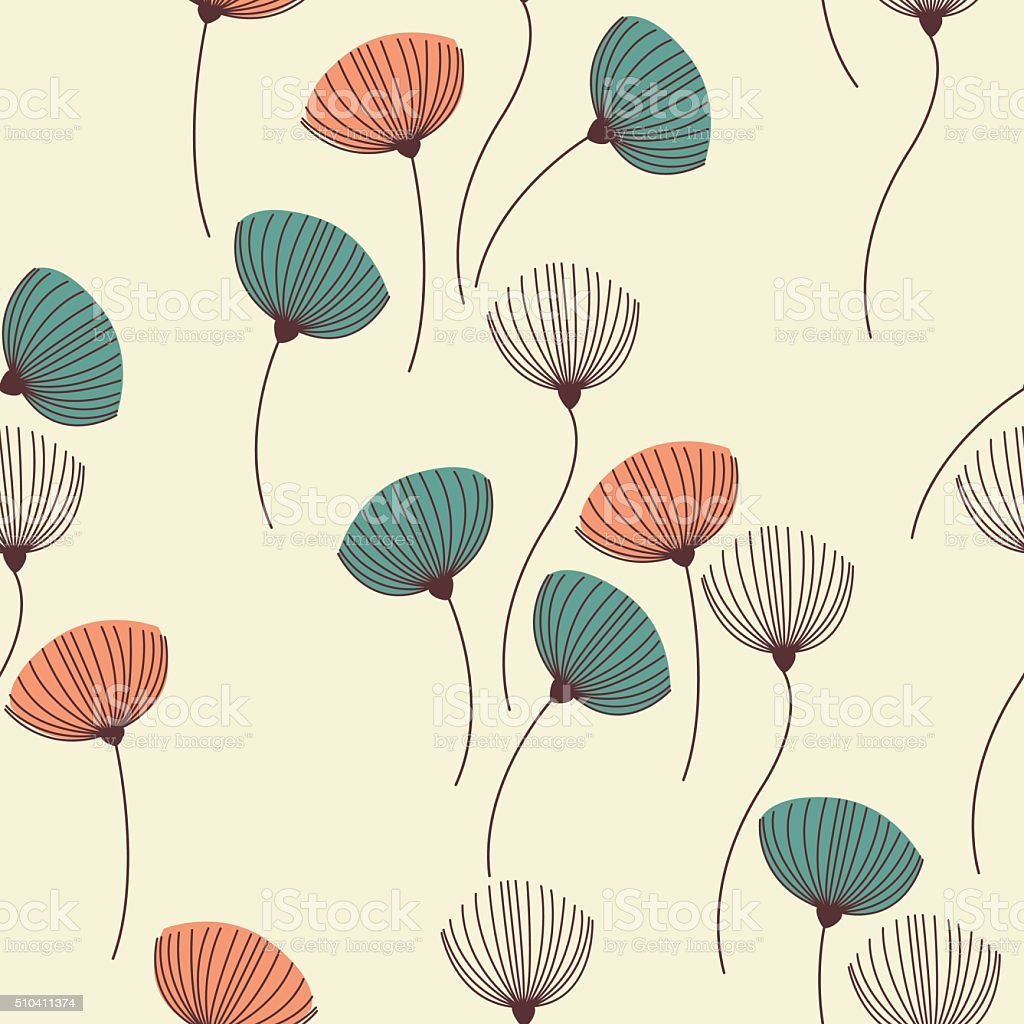 Background with dill. vector art illustration