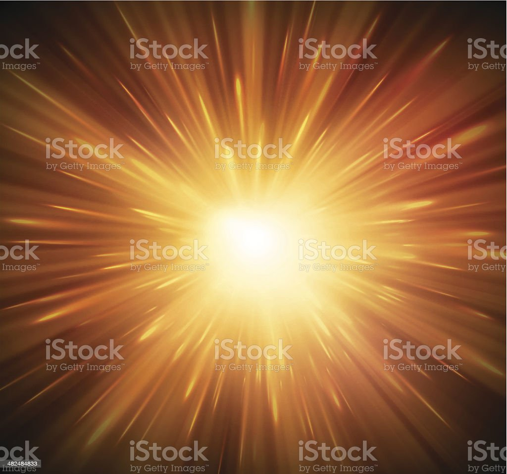 Background with explosion vector art illustration