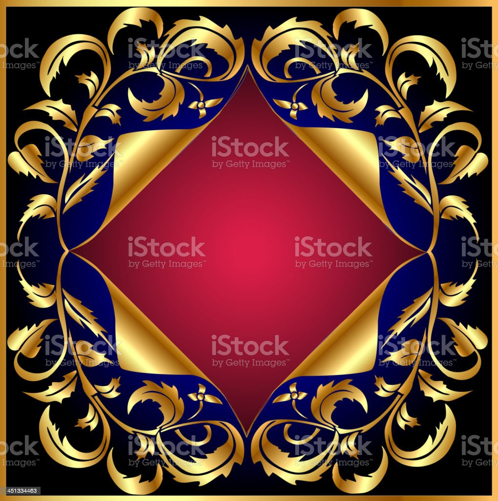 background with gold(en) vegetable royalty-free stock vector art
